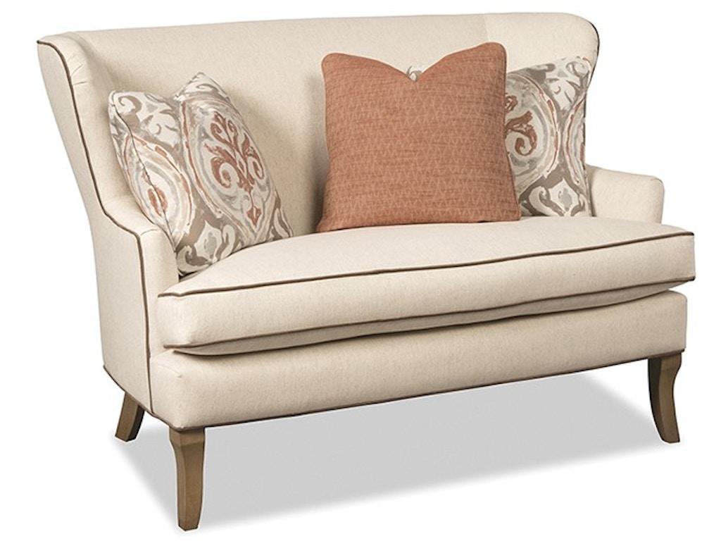 Paula Deen By Craftmaster Living Room Settee Tyndall