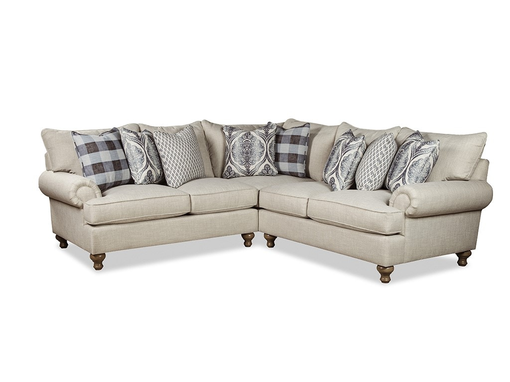 Paula Deen By Craftmaster Sectional P7117BD Sect