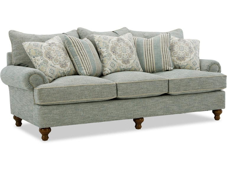 Paula Deen By Craftmaster Living Room Sofa P711750bd Stacy