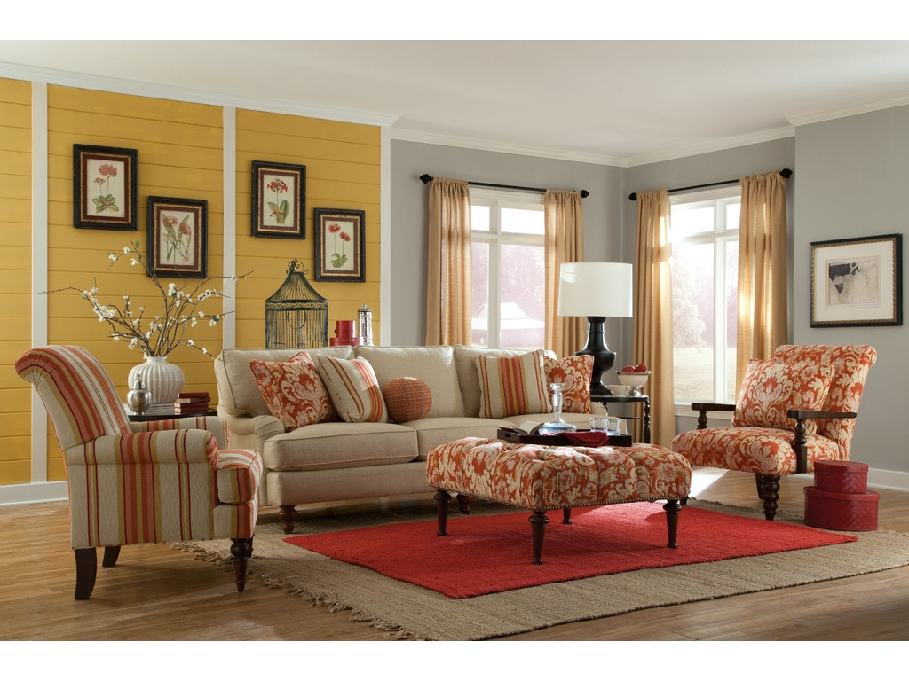 Paula Deen By Craftmaster Living Room Sofa P734350bd