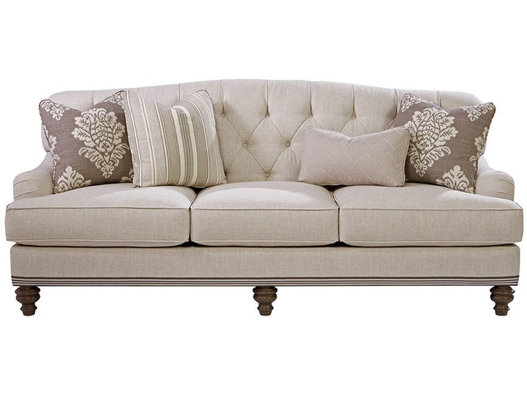 Paula deen by craftmaster living room sofa p744950bd craftmaster hiddenite nc for Paula deen living room furniture