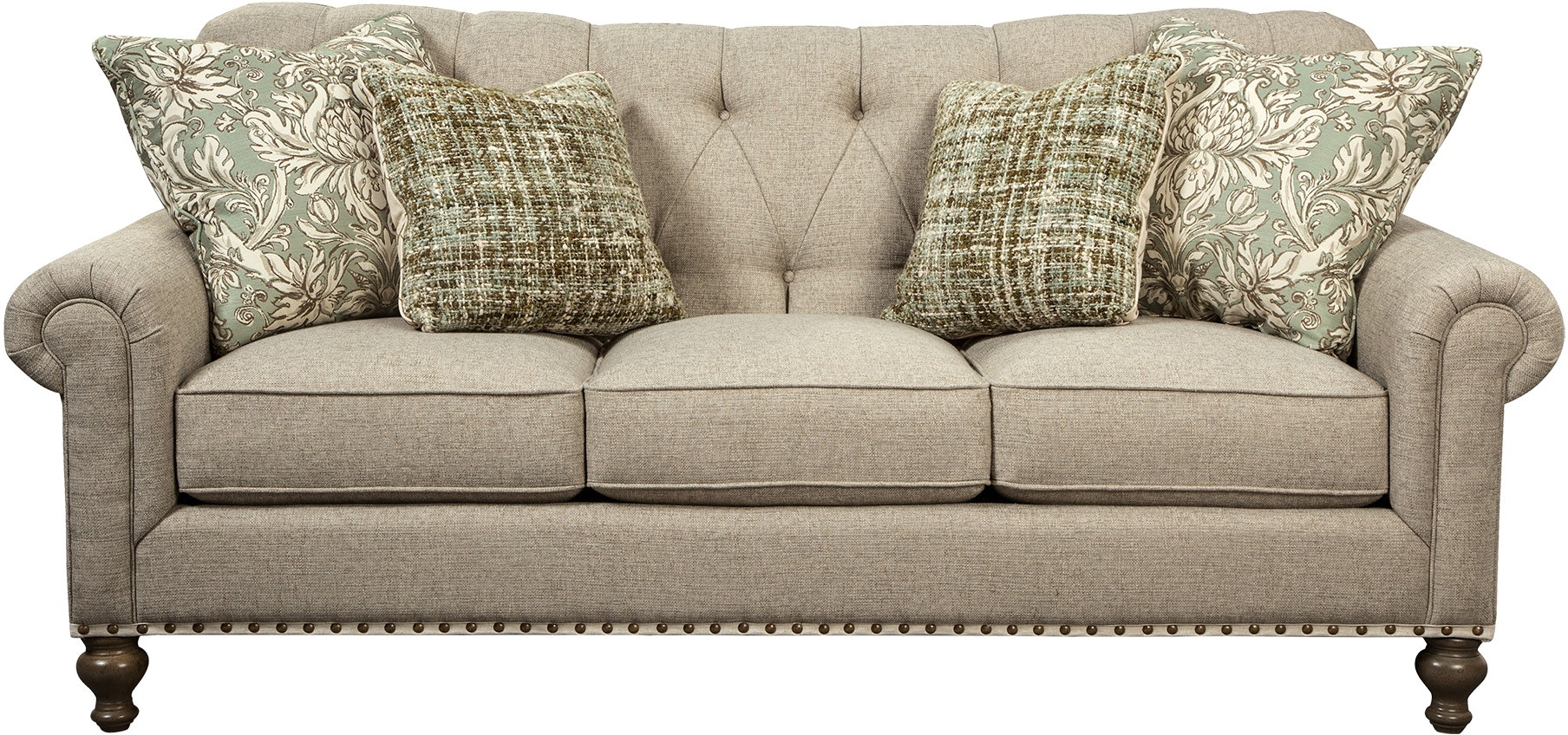 Paula Deen By Craftmaster Living Room Sofa P754150bd Craftmaster