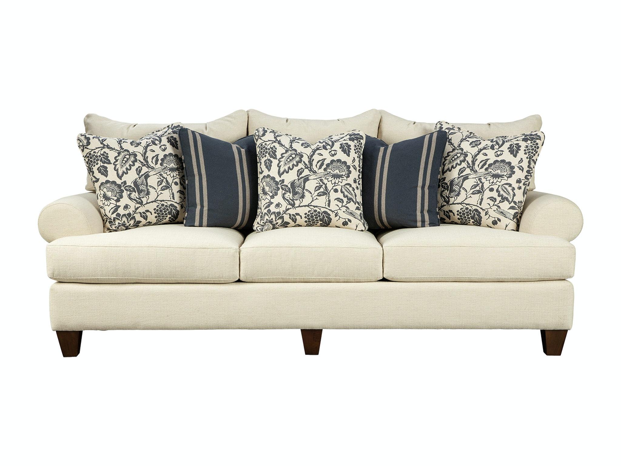 Charmant Paula Deen By Craftmaster Living Room Sofa P781650BD ...