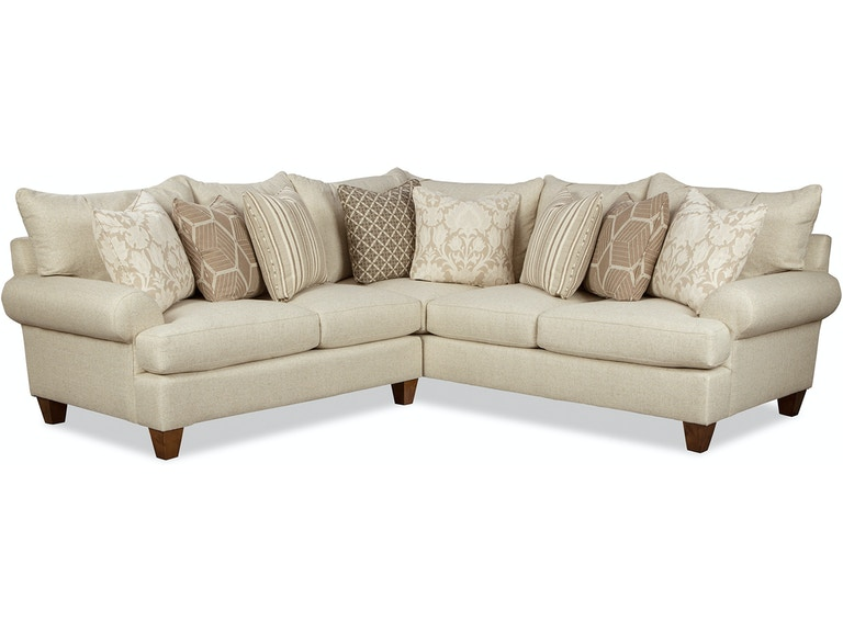 Paula Deen By Craftmaster Living Room Sectional P7816bd Sect