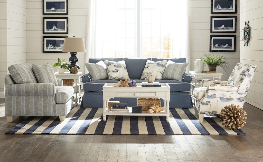 Paula Deen By Craftmaster Living Room Sofa P912150 Good S