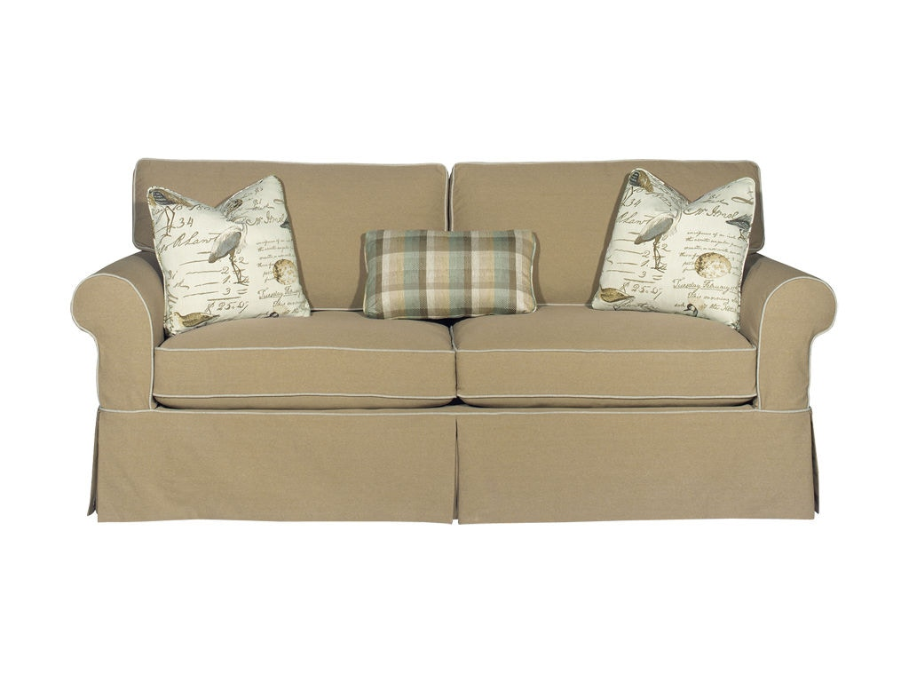 Paula Deen by Craftmaster Living Room Sofa P928550BD - Blockers Furniture - Ocala, FL