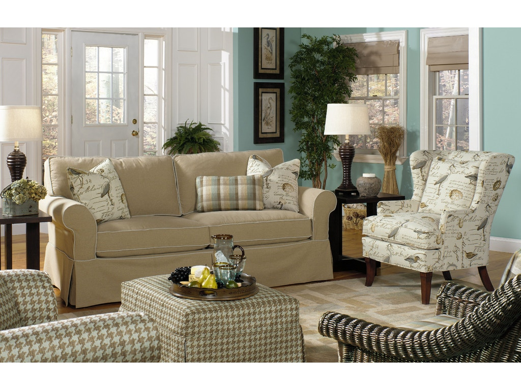 Paula Deen Living Room Furniture Collection Paula Deen By Craftmaster Living Room Sofa P928550bd The