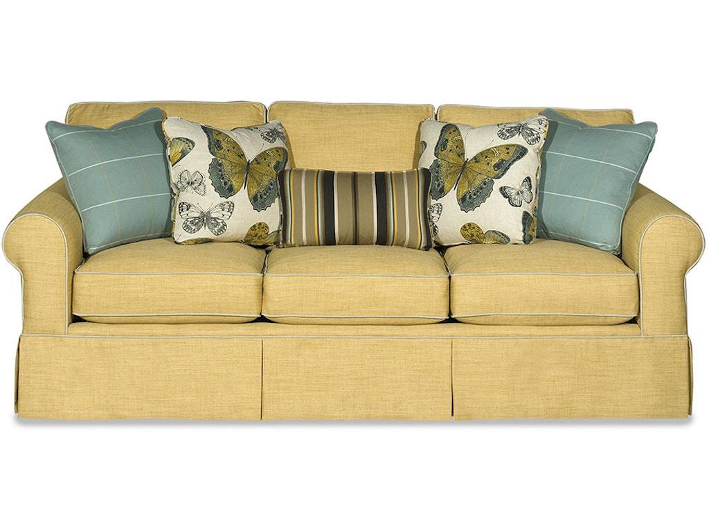 paula deencraftmaster living room three cushion sofa