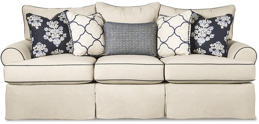 paula deen by craftmaster living room three cushion sofa p997050bd, Hause deko