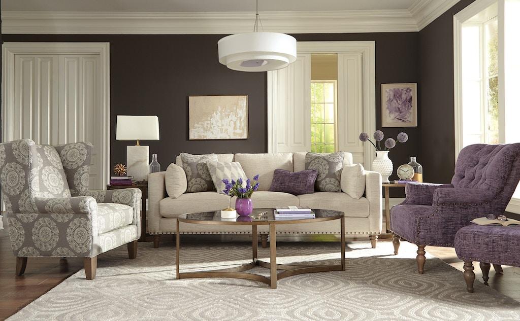 Paula Deen by Craftmaster Living Room Sofa P784350BD - Great ...