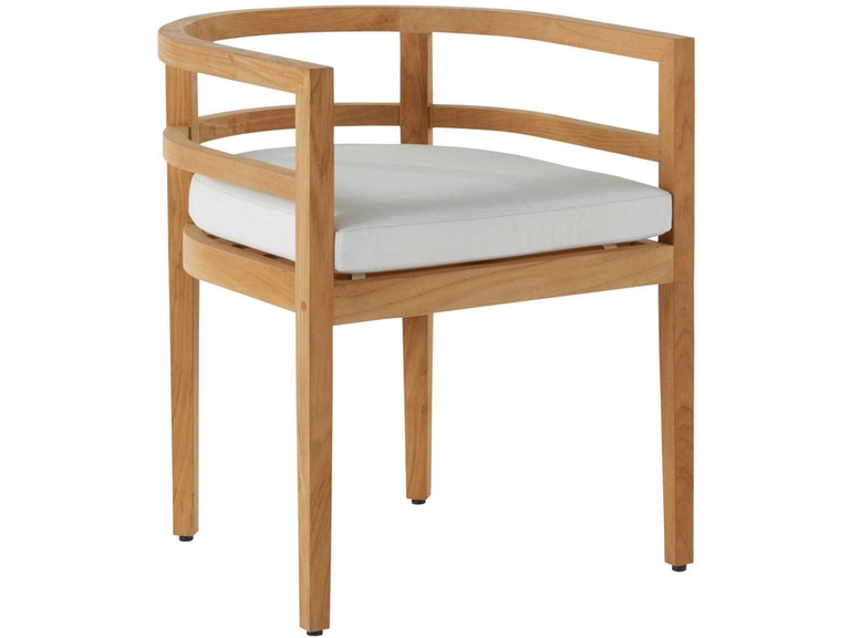 Summer Classics Santa Barbara Teak Barrel Back Arm Chair 27894