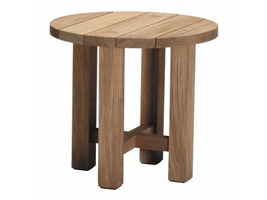 Summer Classics Croquet Teak End Table 28364
