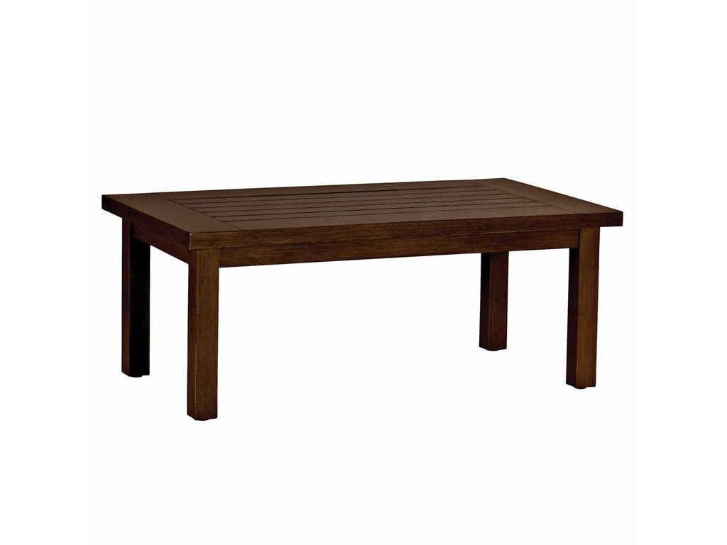 Club Aluminum Rectangular Coffee Table Smc332317
