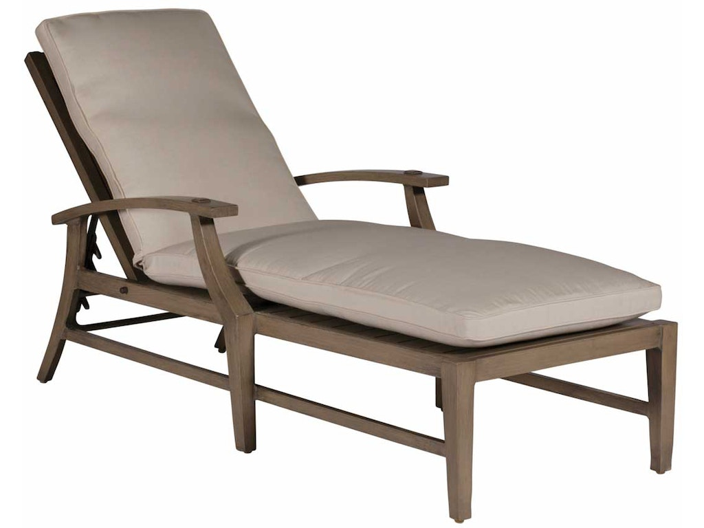 Summer classics outdoor patio croquet aluminum chaise for Chaise lounge aluminum