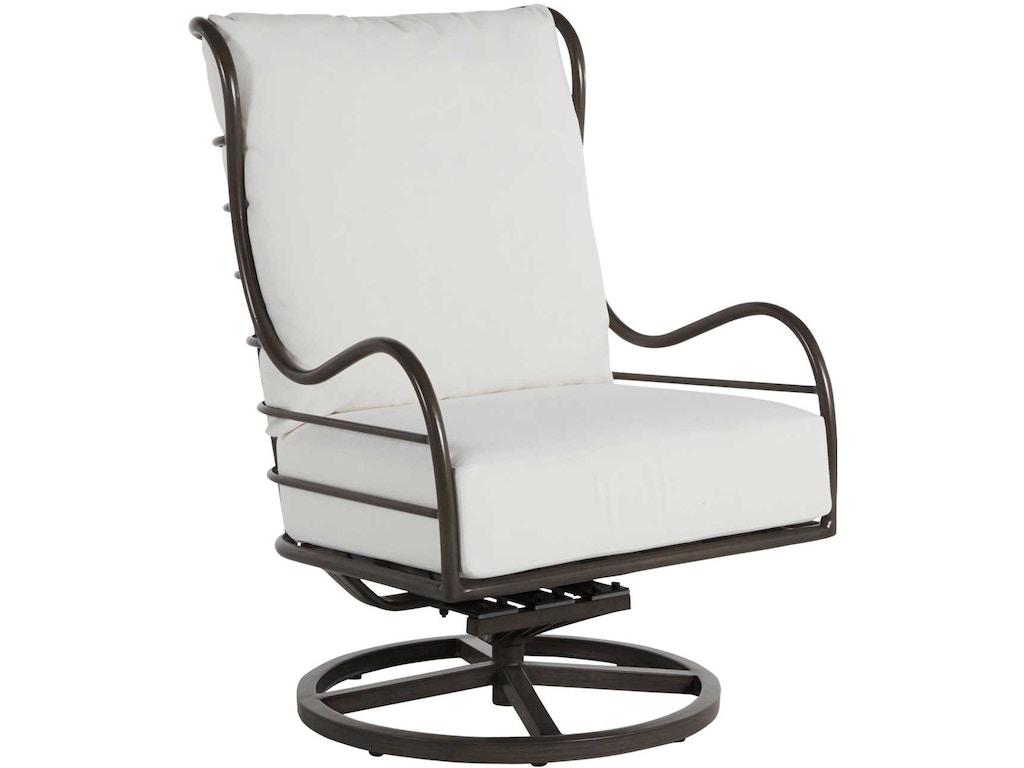 Fine Summer Classics Outdoor Patio Carmel Aluminum Swivel Rocker Machost Co Dining Chair Design Ideas Machostcouk