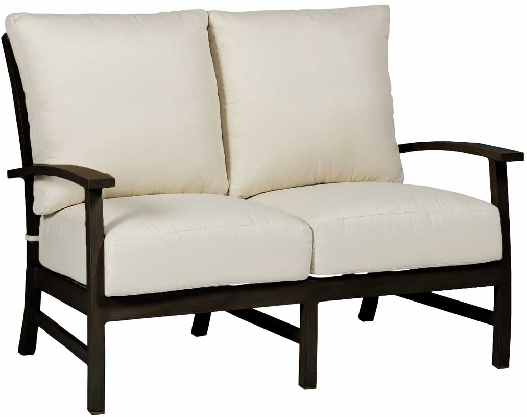 Summer Classics Outdoor Patio Charleston Loveseat Zing Casual Living