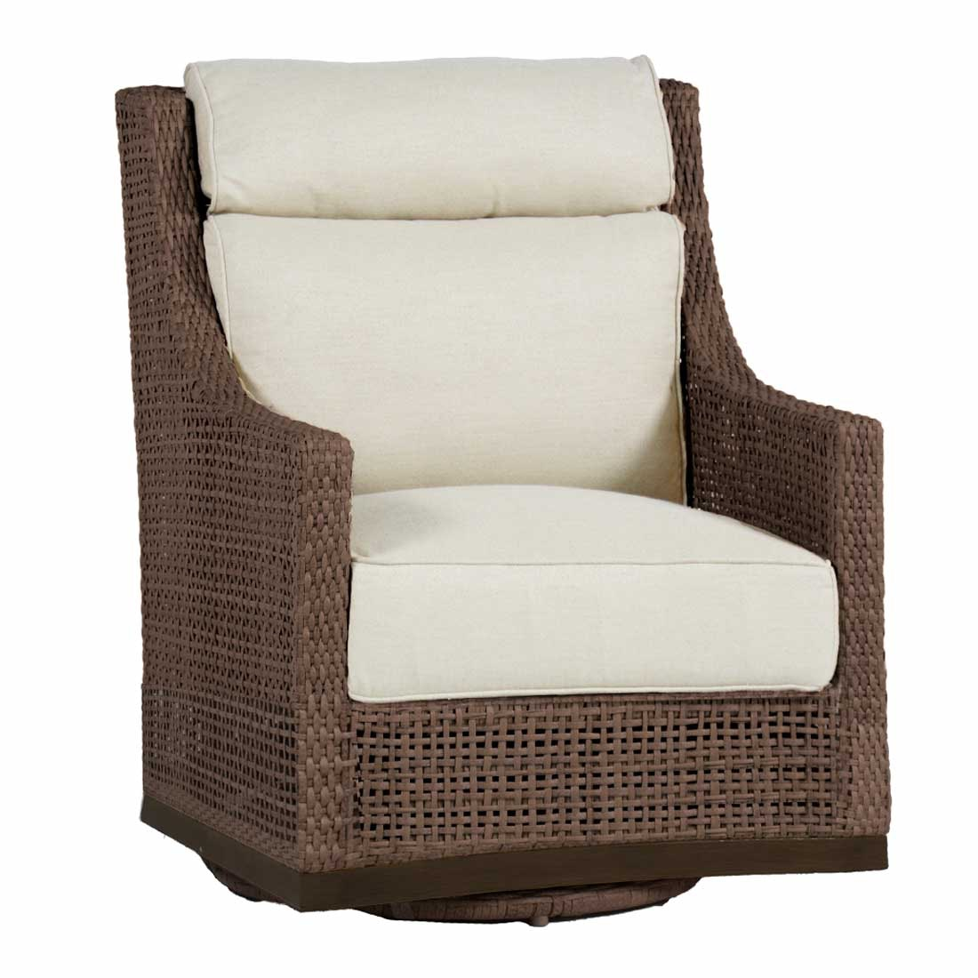 ****Some Brands NOT Available In BOTH Store Locations. Peninsula Speaker  Swivel Glider Chair 420537 Summer Classics