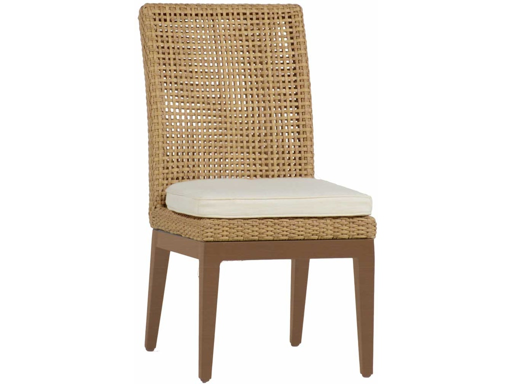 Summer Classics Outdoor Patio Peninsula Side Chair 423137