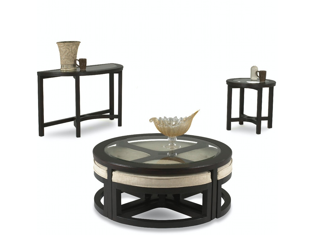 Klaussner International Living Room Ringlet Cocktail Table 676 820 Ctbl Pittsfield Furniture