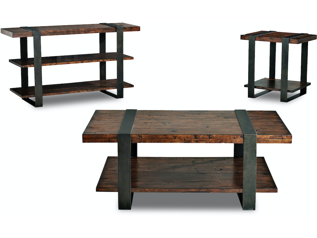Klaussner International Living Room Timber Forge Cocktail Table 444 819 Ctbl Pittsfield