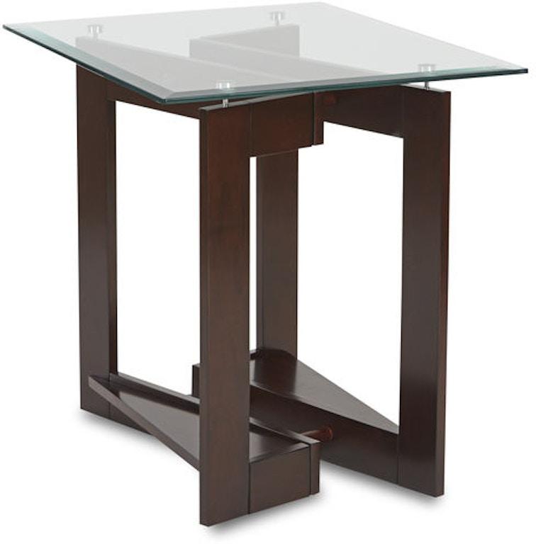 Klaussner International Living Room Cadence End Table 574-809 ETBL