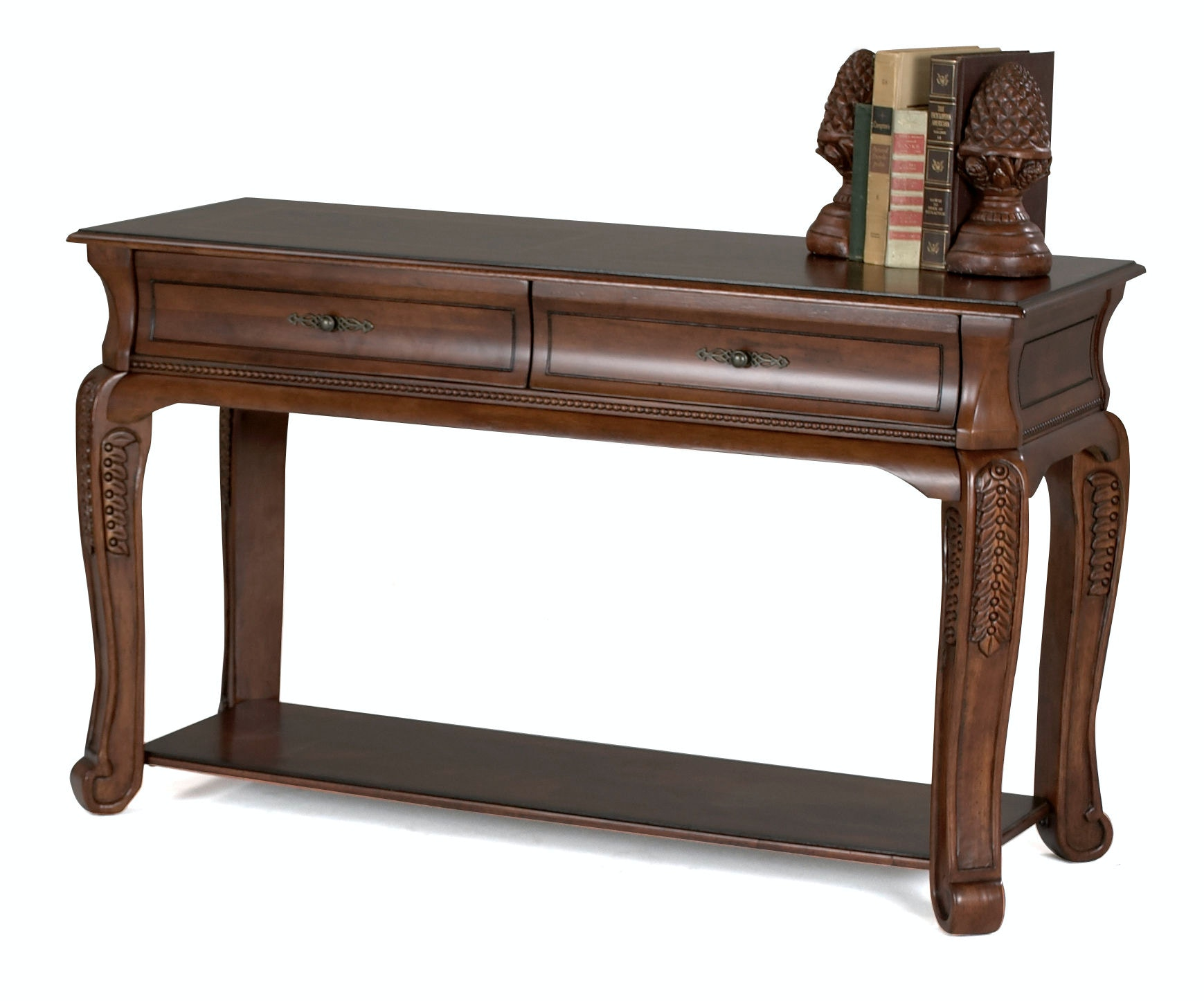 Klaussner International Living Room Winchester Sofa Table 808 825 STBL At  Klaussner Homestore Of Raleigh   KSC