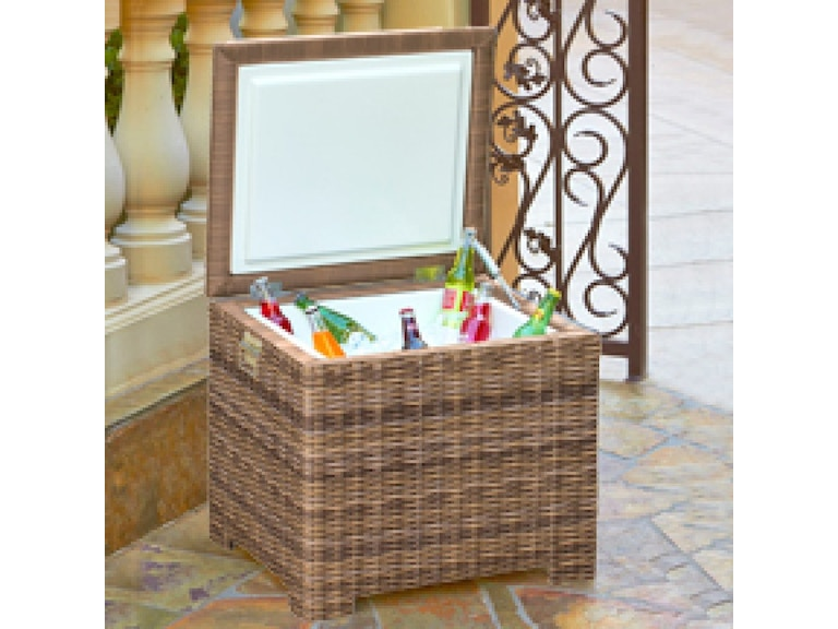North Cape Outdoor Patio End Table Ice Chest Nc415 P At Maynard S Home Furnishings