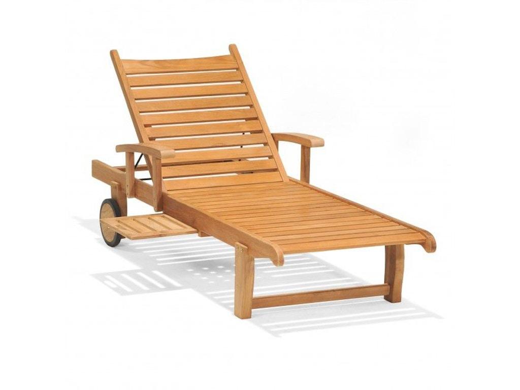 North Cape OutdoorPatio Balboa Single Adjustable Chaise Lounge W - North cape outdoor furniture