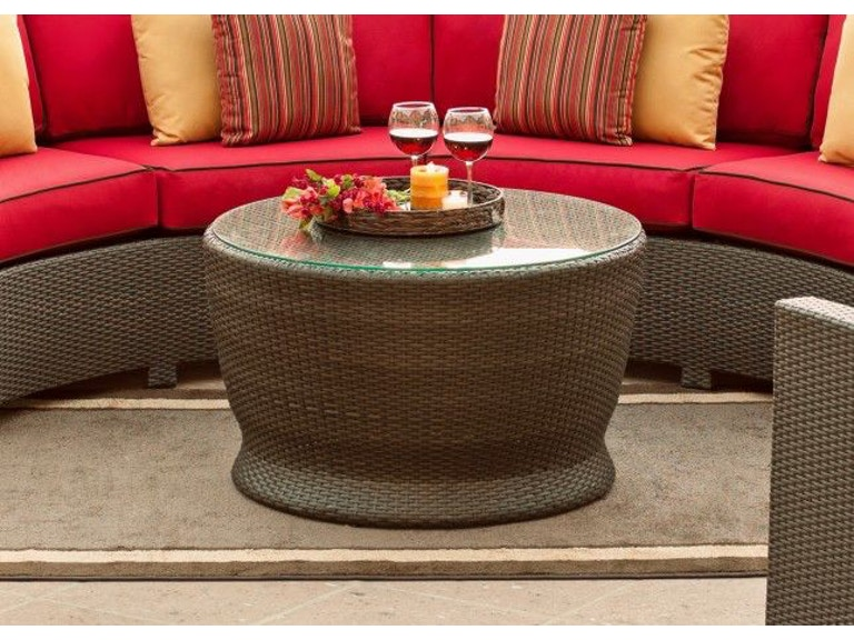 North Cape Outdoor Patio Cabo Round Chat Table Gl Nc270cht At Maynard S Home Furnishings
