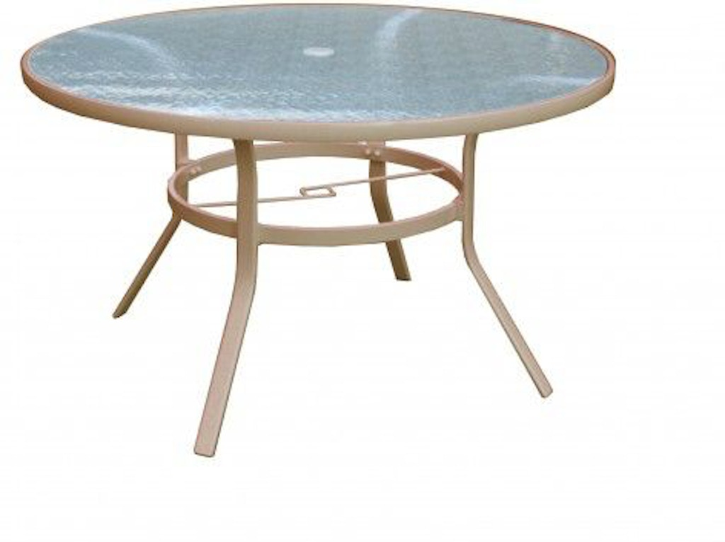 North Cape Capri 48 Inches Round Dining Table Nc6100dt