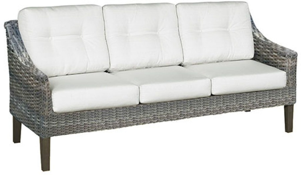 North Cape Outdoor Patio 3 Seater Sofa