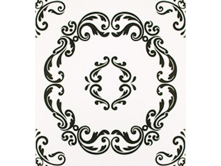 Microd Wallpaper Florimund Black And White Print