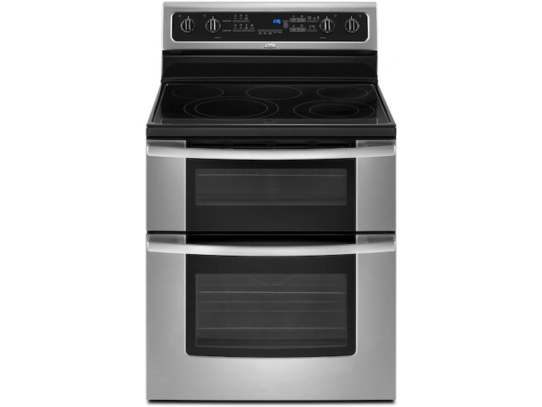 Whirlpool Kitchen Resource Saver Double Oven Range Gge390lxs