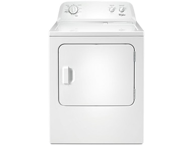 Whirlpool 7.0 Cu. Ft. Top Load Paired Dryer WED4616FW