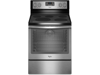 Whirlpool 6.4 Cu. Ft. Freestanding Electric Range WFE540H0ES