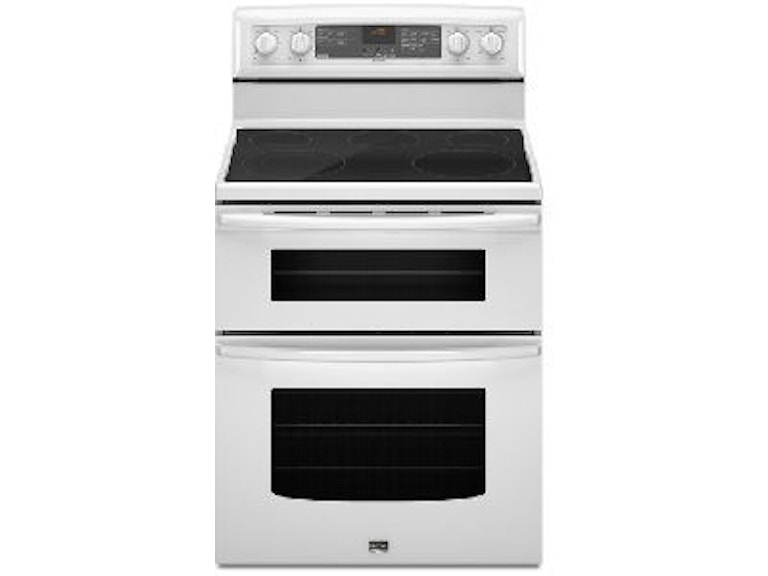 Whirlpool Kitchen 6 7 Total Cu Ft Double Oven Electric Range Wge755c0bh At Sides Furniture Bedding