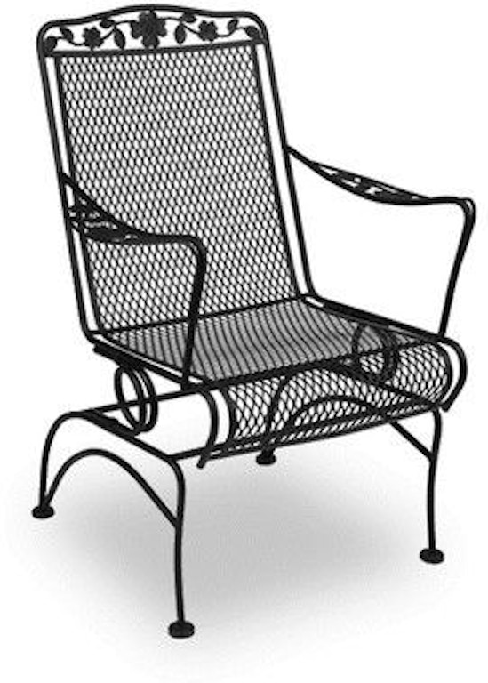 Meadowcraft Outdoor/Patio Dogwood Coil Spring Chair 7617400-02 at Shumake  Furniture - Meadowcraft Outdoor/Patio Dogwood Coil Spring Chair 7617400-02