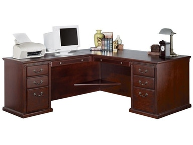 Kathy Ireland™ Home by Martin Left Hand Facing L-Shaped Desk HCR6841L