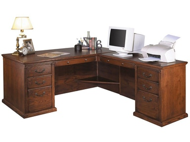 Kathy Ireland™ Home by Martin Right Hand Facing L-Shaped Desk HO6841RB
