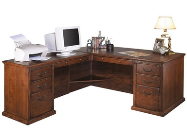 Kathy Ireland™ Home by Martin Left Hand Facing L-Shaped Desk HO6841LB