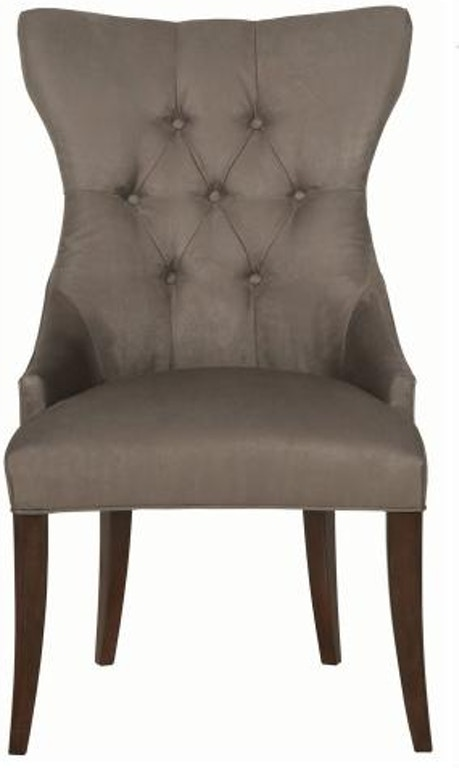 Bernhardt Interiors Dining Room Tufted Back Chair 319 542