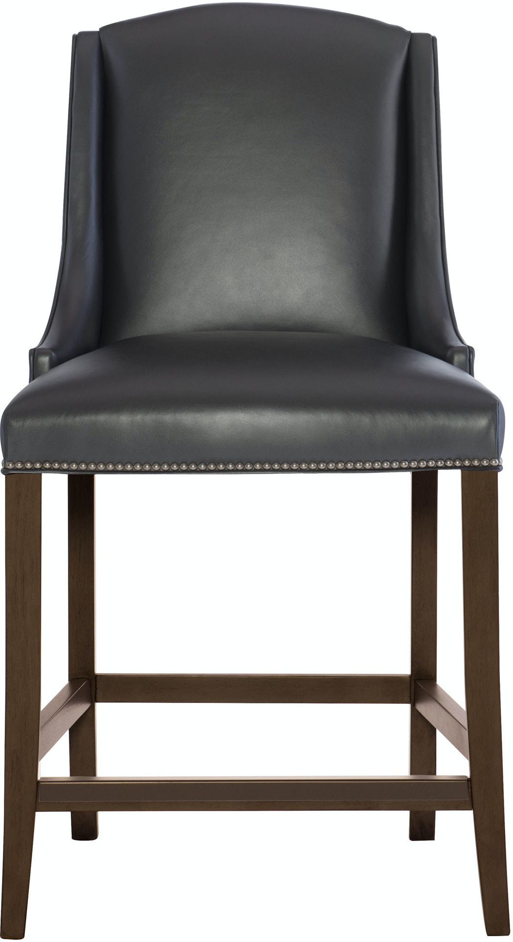 Bernhardt Interiors Bar And Game Room Leather Bar Stool