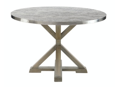 Bernhardt Interiors Round Metal Dining Table 326-262/ 326-263