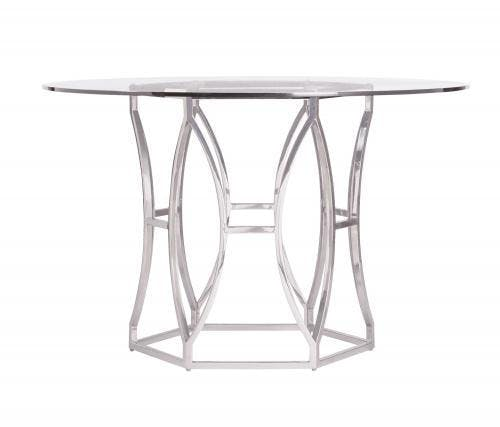 Picture of: Bernhardt Interiors Dining Room Metal Dining Table Base 326 771 Carol House Furniture Maryland