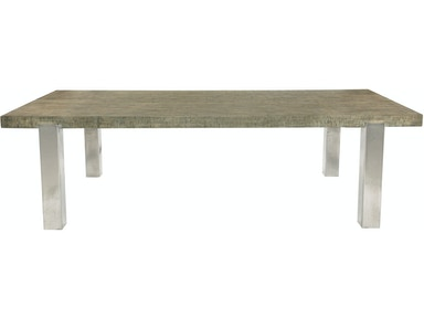 Bernhardt Interiors Gervais Dining Table Top and Base 366-223T/ 366-223
