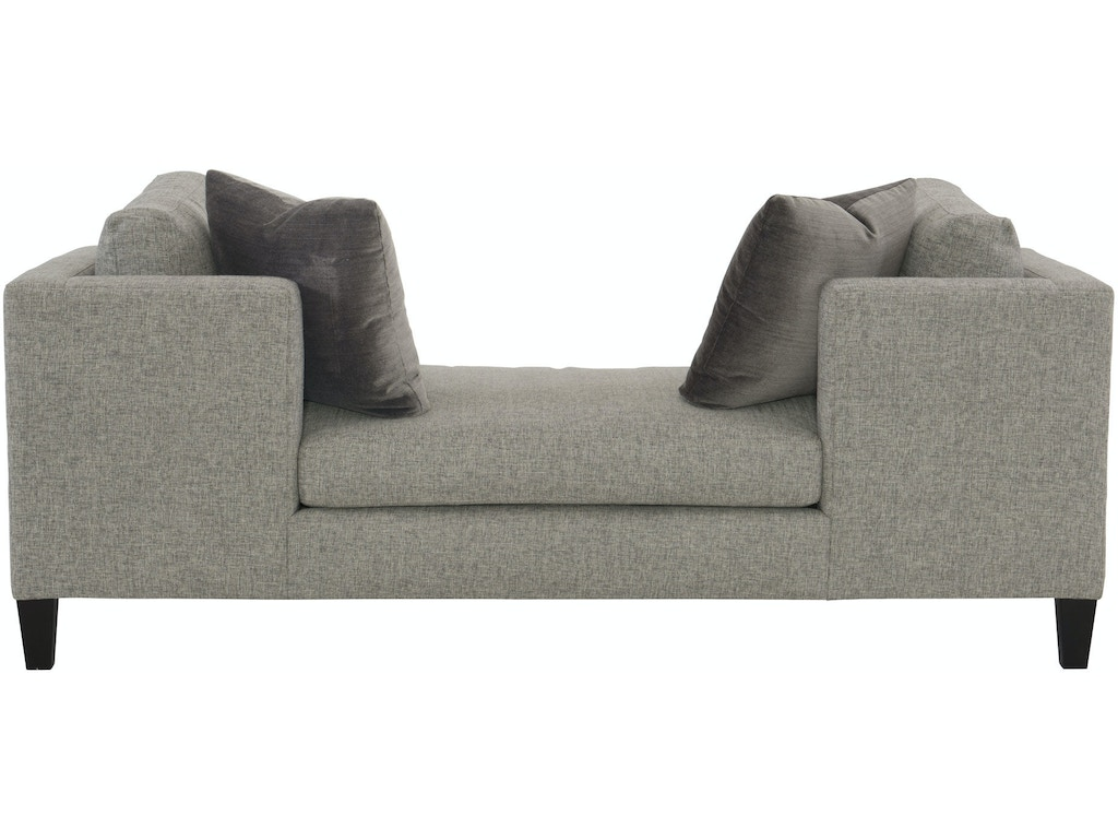 Bernhardt interiors living room chaise n1189 ivy for Bernhardt chaise