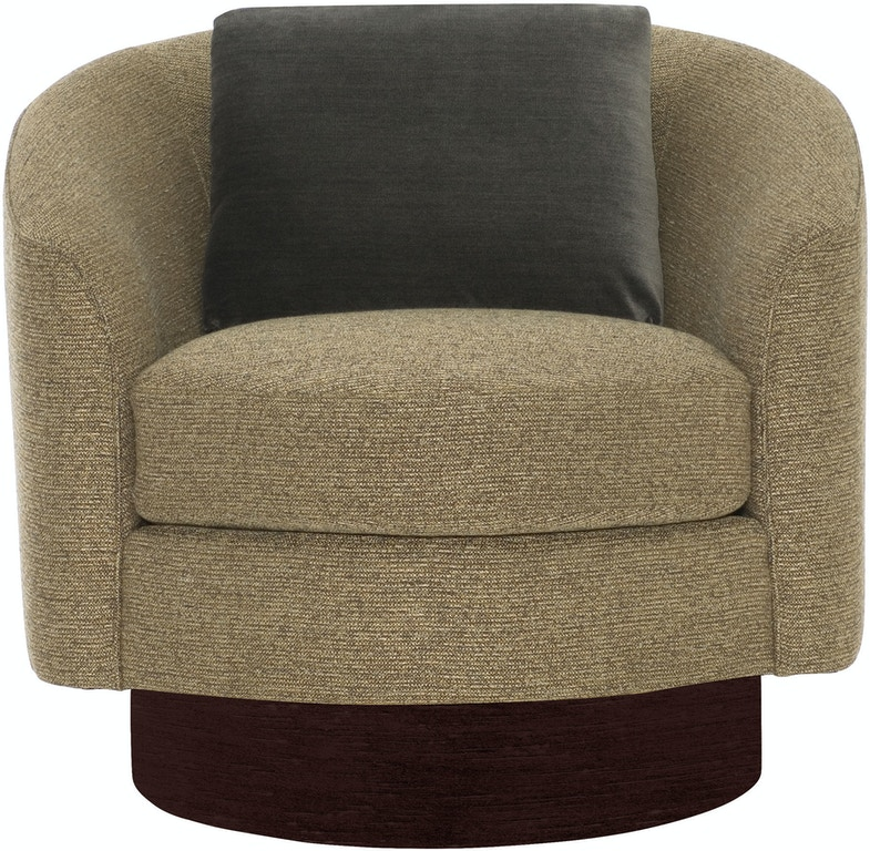 Furniture Clearance Center Houston Tx: Bernhardt Interiors Living Room Swivel Chair N5712S