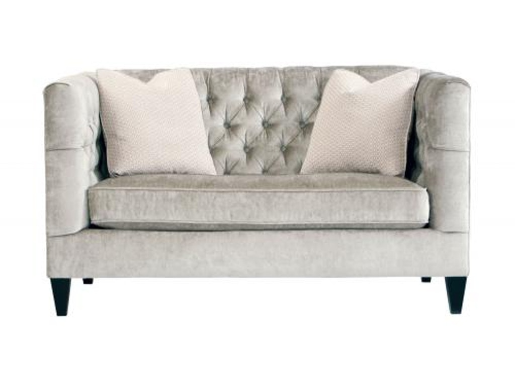 Bernhardt Interiors Living Room Loveseat N8815 Finesse Furniture Interiors Edmonton