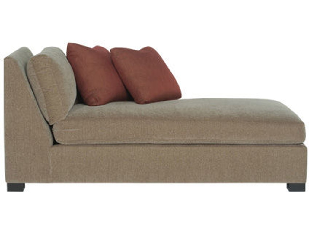 Bernhardt interiors living room right arm chaise n9637 for Chaise interiors
