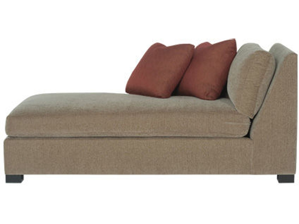 Bernhardt interiors living room left arm chaise n9638 for Chaise interiors